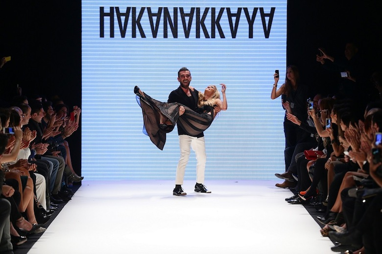 Hakan Akkaya - Runway - MBFWI S/S 2014 Presented By American Express